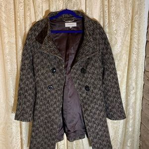 Karen Miller new brown coat